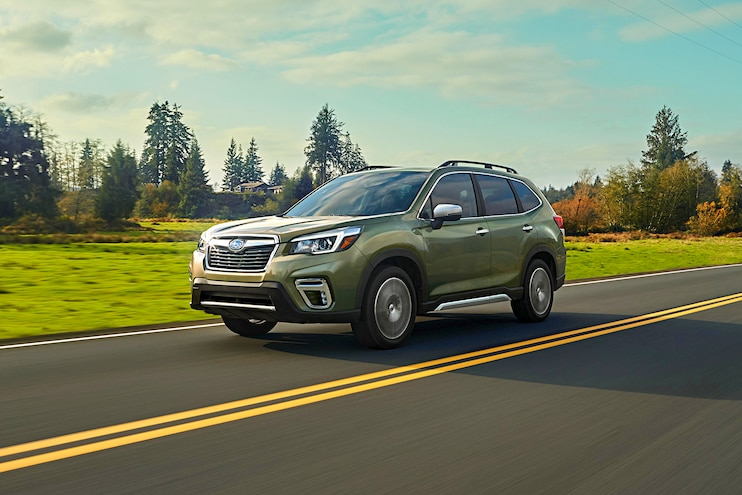 2019 Subaru Forester First Drive Front View
