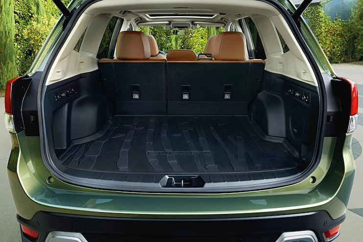 2019 Subaru Forester First Drive Trunk Space
