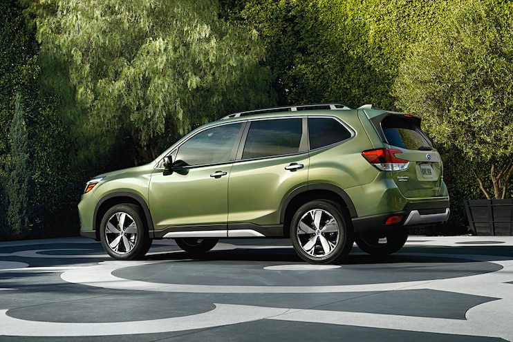 2019 Subaru Forester First Drive 3 4 Rear