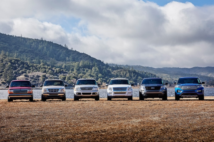 2020 Ford Explorer And Previous Generations