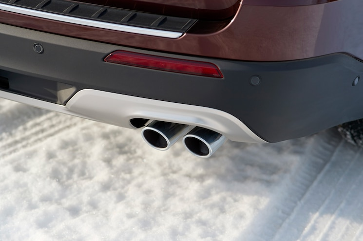 2020 Ford Explorer Platinum Exterior Exhaust Pipe