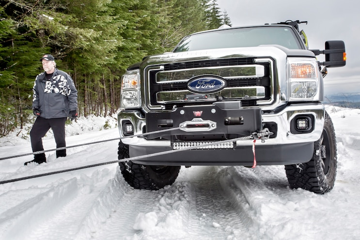 The Only Remedy When Your Truck is Stuck: Winch Out