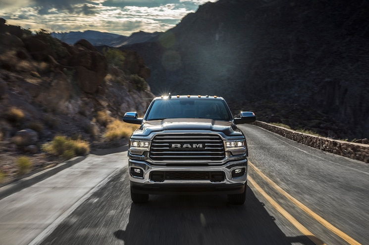 2019 Ram 2500 Laramie Longhorn Exterior Front View 01