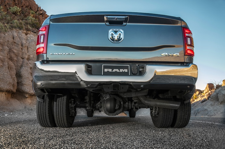 2019 Ram 3500 Limited Exterior Rear View 01