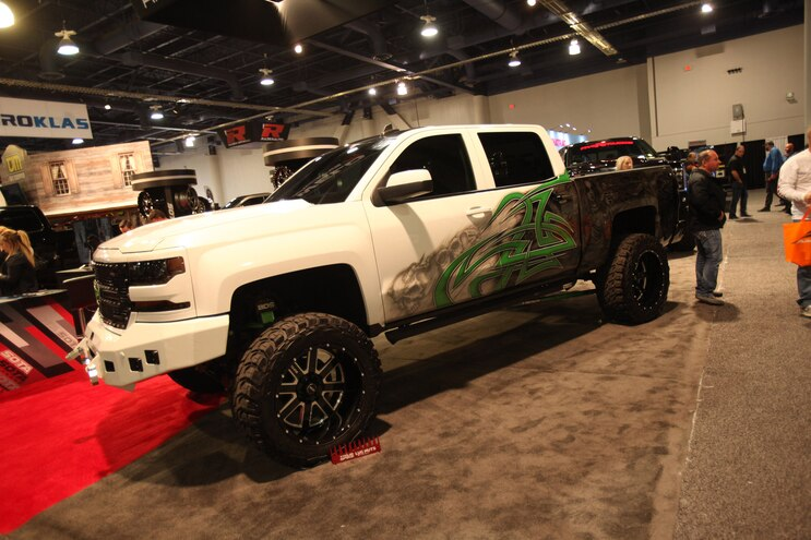 30 Best Lifted Trucks Of Sema Chevy