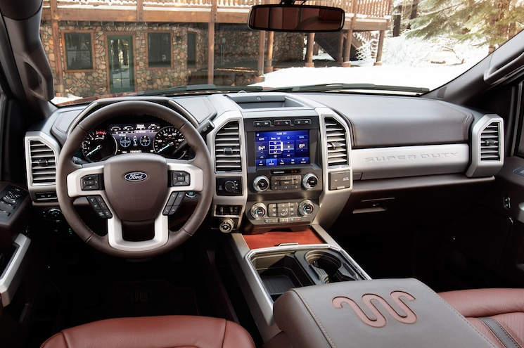 2020 Ford F 250 Super Duty King Ranch Interior Cockpit