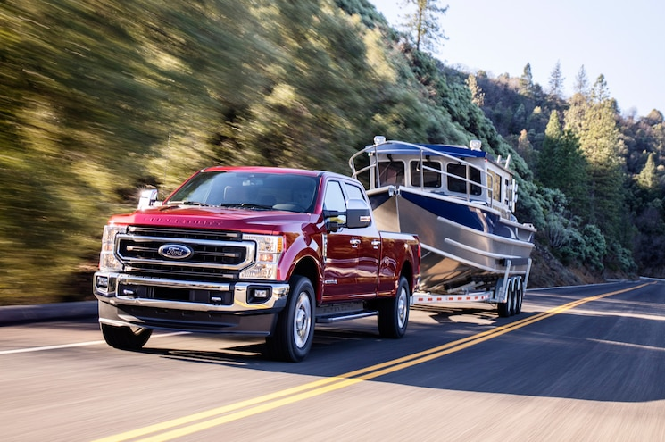 2020 Ford Super Duty Gets 10 Speeds, an Updated Power Stroke, and a 7.3L Gas Engine