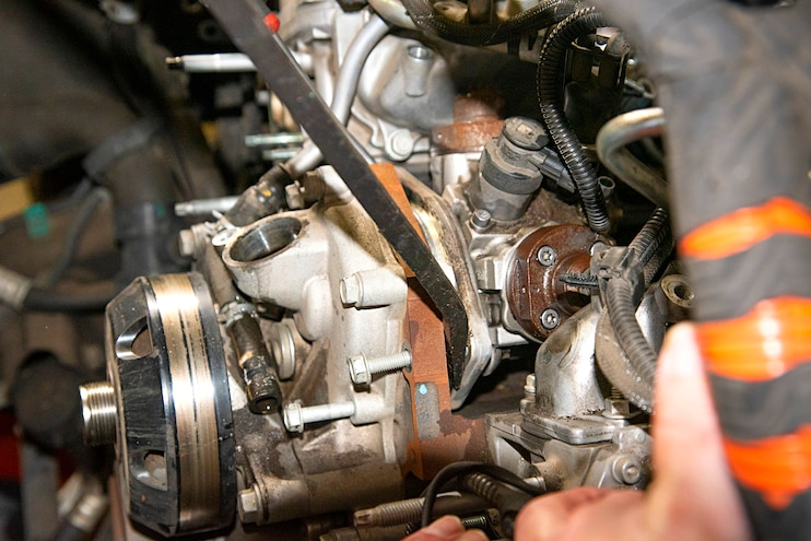 009 Lml Duramax Cp4 To Cp3 Prying Cp4 From Housing