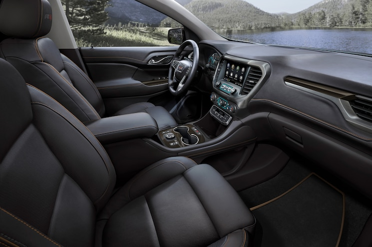 2020 Gmc Acadia At4 Interior Front Seats
