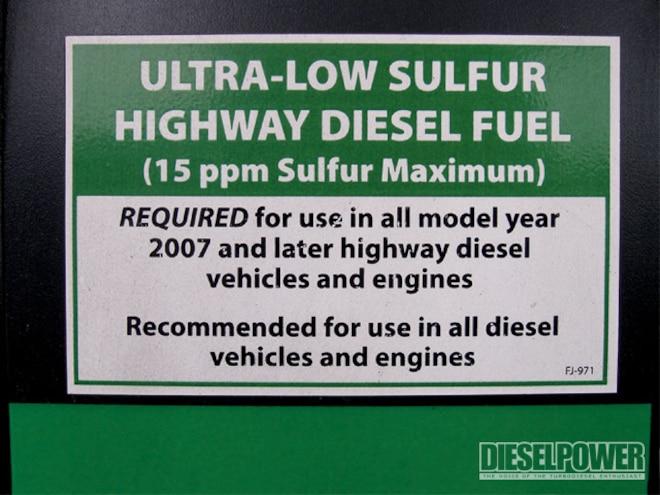 Fuel Additive Test - ULSD