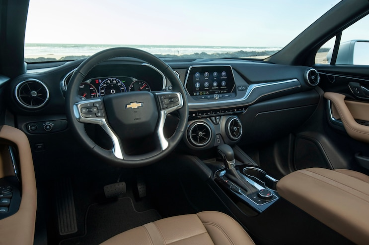 First Drive 2019 Chevy Blazer Interior