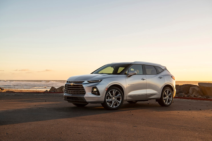 First Drive 2019 Chevy Blazer 3q Front
