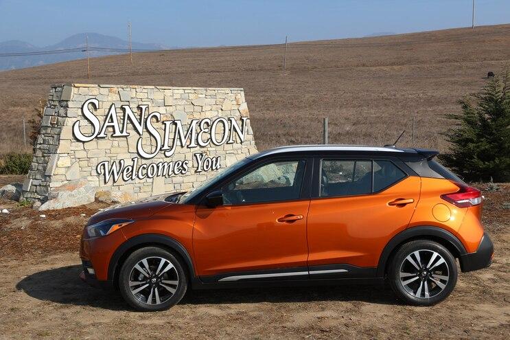 2019 Nissan Kicks Road Trip San Simeon