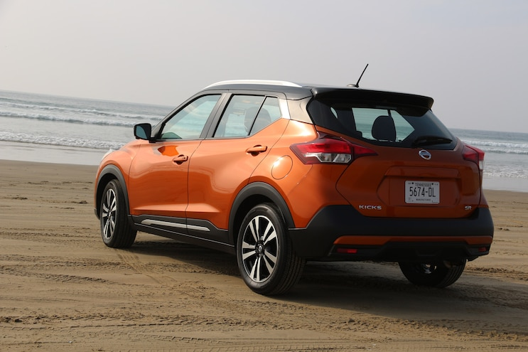 2019 Nissan Kicks Road Trip Rear