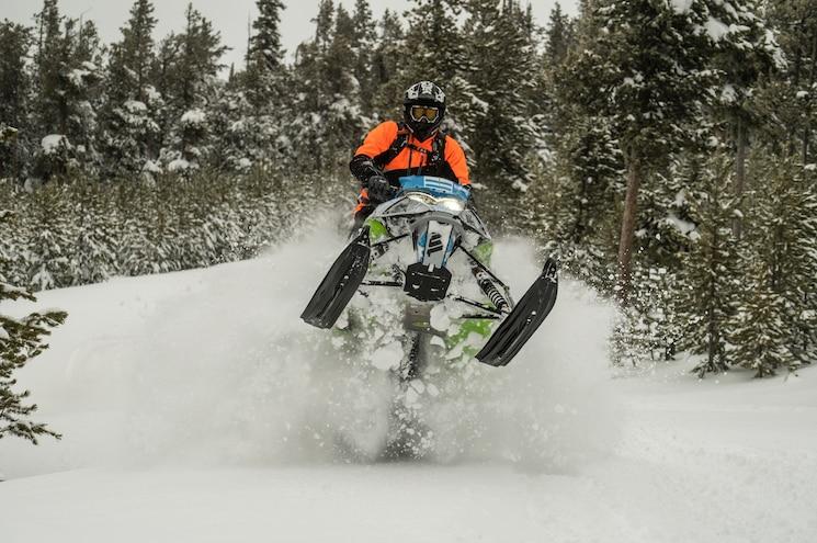 Nissan Titan Adventure Snowmobiling 05