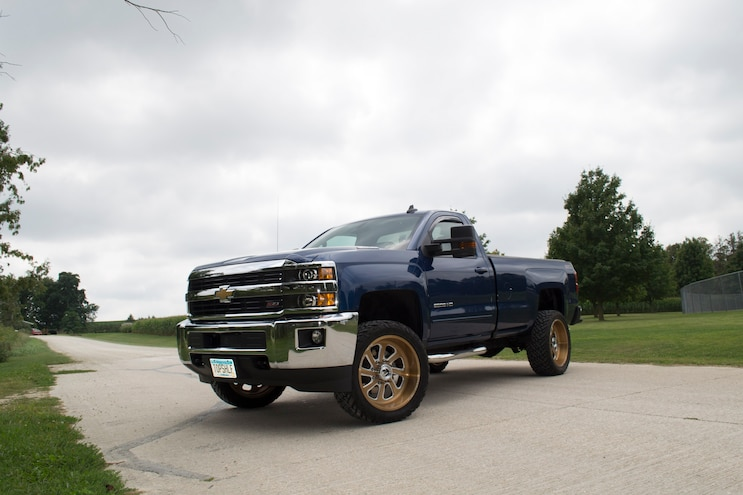 2016 Chevrolet Silverado 2500HD: Compound Turbo Creation