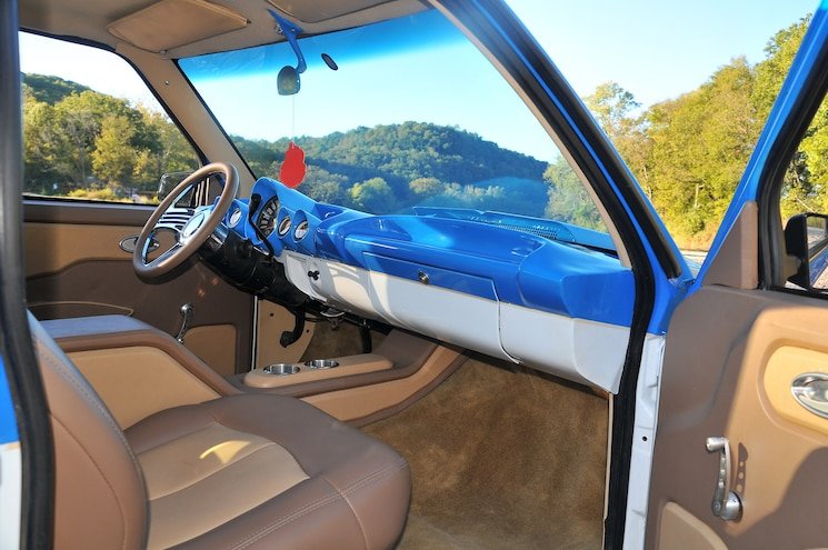 1993 Chevrolet S10 The Orphan Interior
