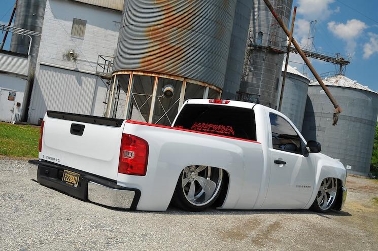 2013 Chevy Silverado 1500 The Low Roller Rear 3q