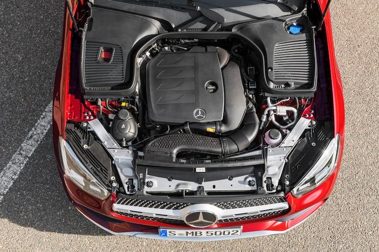 2020 Mercedes Benz Glc 300 Coupe Exterior Engine Bay
