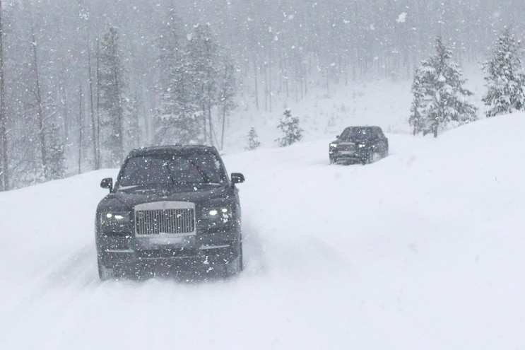 2019 Rolls Royce Cullinan First Drive In Snow