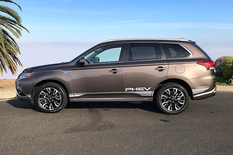 Daily Driven 2018 Mitsubishi Outlander PHEV Side