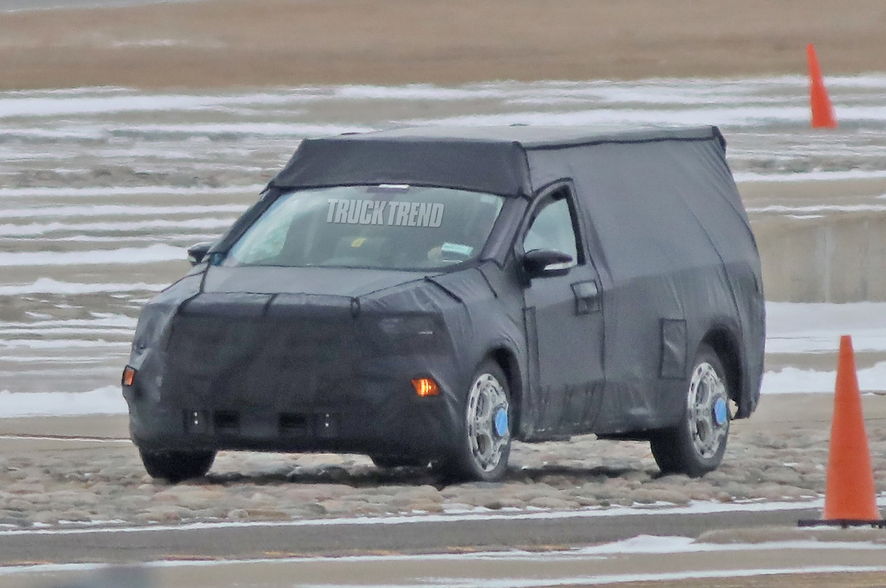 spied  2021 ford courier compact pickup