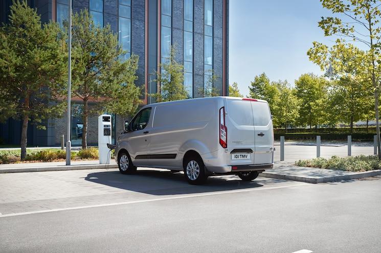 2019 Ford Transit Custom Phev Exterior Rear Quarter 01