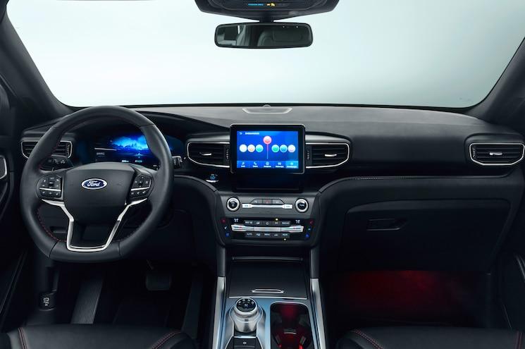 2020 Ford Explorer Plug In Hybrid Interior Front Cabin