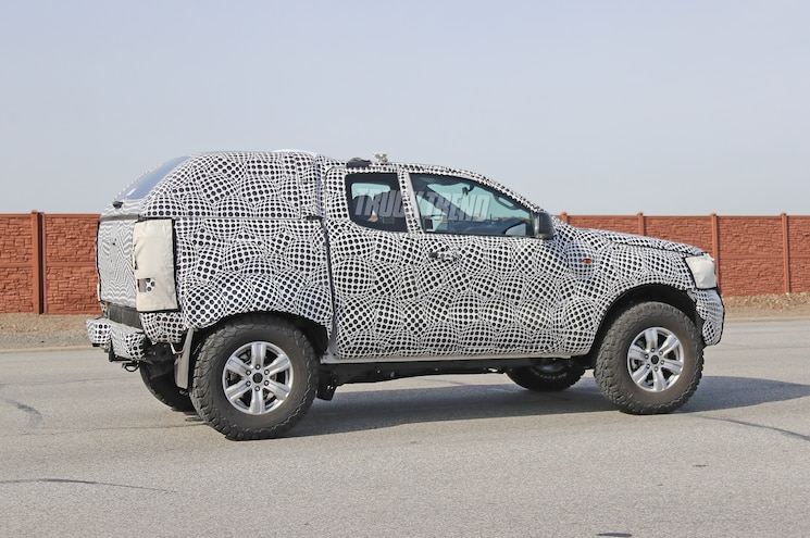2021 Ford Bronco Mule Rear Quarter 01