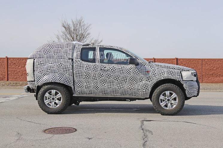 2021 Ford Bronco Mule Side Profile