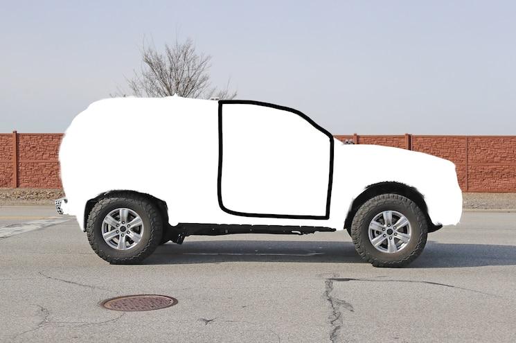 2021 Ford Bronco Mule Silhouette