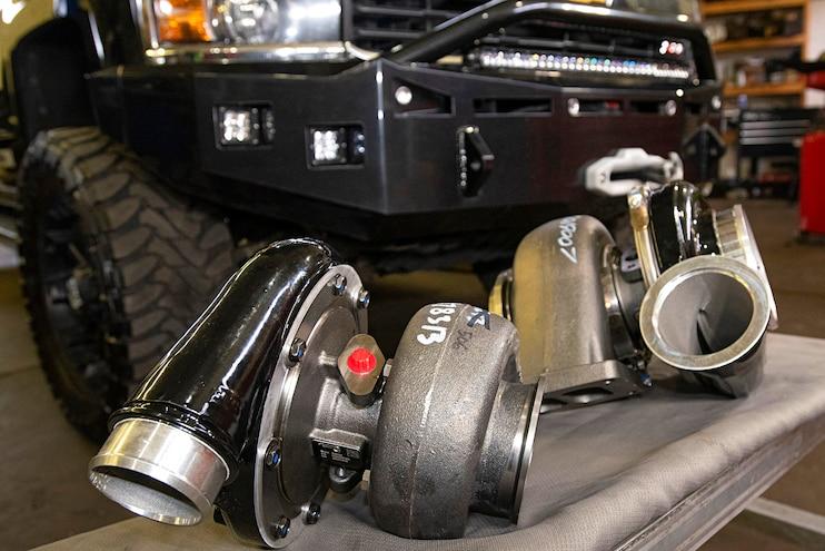 003 Compound Turbo Kit Lml Duramax Wehrli Turbos