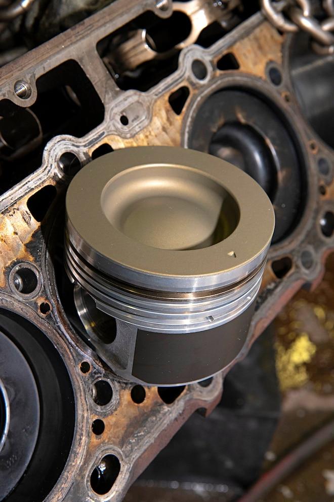 005 Compound Turbo Kit Lml Duramax Mahle Piston