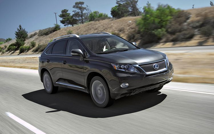 First Test: 2010 Lexus RX 450h AWD