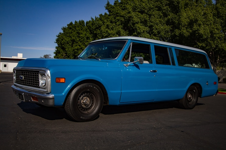 Project Rebirth '71 Suburban: Bolt-On Suspension with QA1, CPP and Lowboy Motorsports