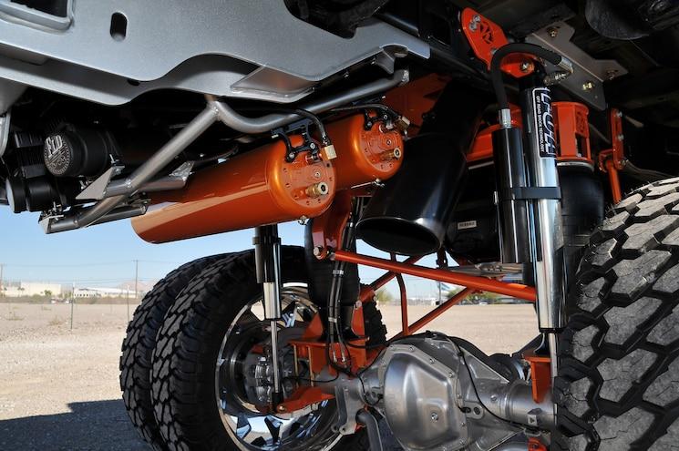 2017 Ford F 350 Platinum Reimagined Rear Suspension