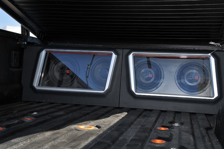 2017 Ford F 350 Platinum Reimagined PowerBass Subwoofers