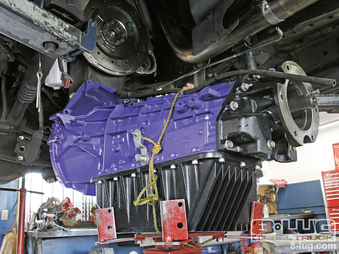 Ford F350 Transmission Swap - ATS 4R100 Stage 4 Transmission