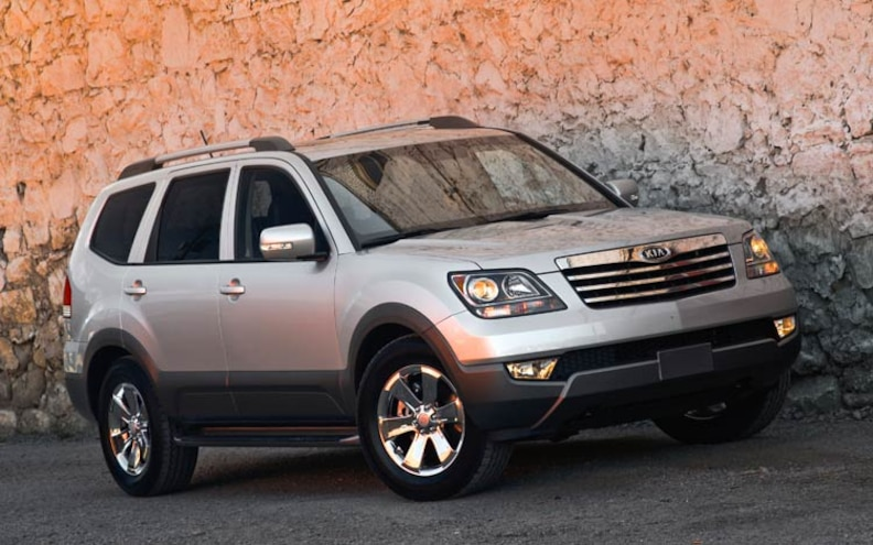 Recall: 2009 Kia Borrego Recalled For Bad Brake Pedal Mounts