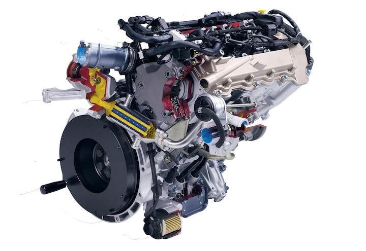 799cc CDI Three-Cylinder Diesel Engine - Mercedes Pocket-Sized Power