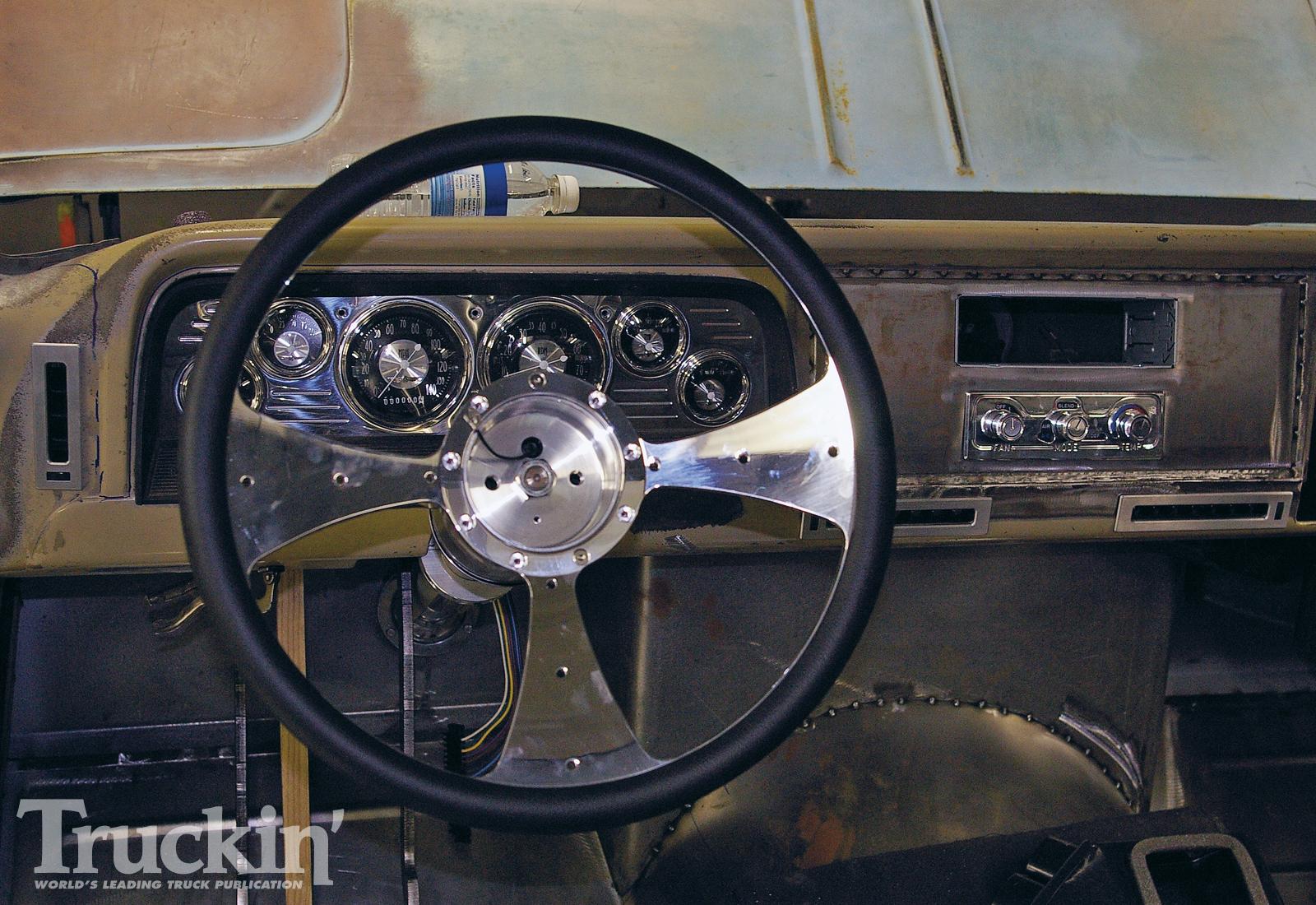 1965 Chevy C10 Buildup - Street Customs '65 C10 Build Photo & Image