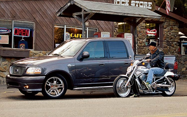 First Look: 2002 Ford Harley-Davidson F-150 SuperCrew
