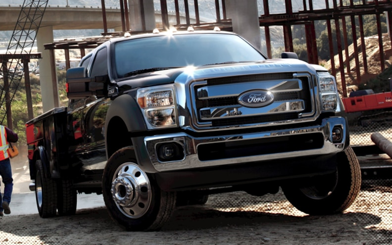 Ford Adds Natural Gas Prep Package To F-450 and F-550 6.8L V-10 Chassis Cab Trucks
