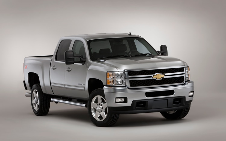 2011 Chevrolet Silverado Heavy Duty Front Three Quarters Static