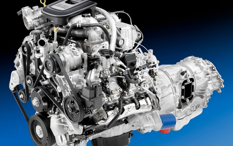 2011 Chevrolet Silverado Heavy Duty Engine