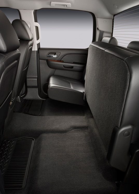 2011 Chevrolet Silverado Heavy Duty Back Seats Folded 2