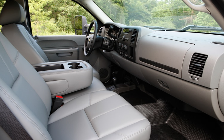 2011 Chevrolet Silverado 2500 HD Interior View