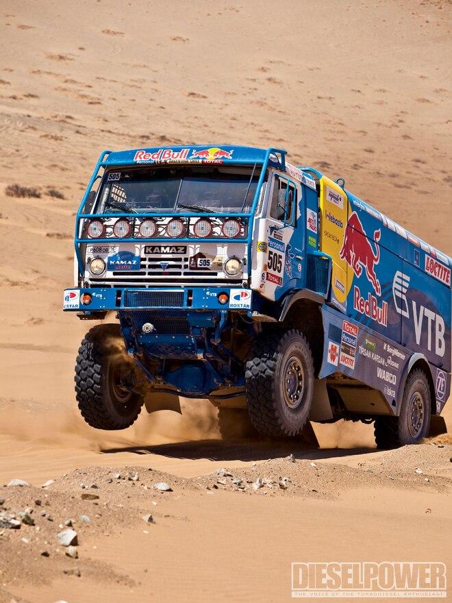 From Russia With Love - Kamaz T4 Dakar Race Truck