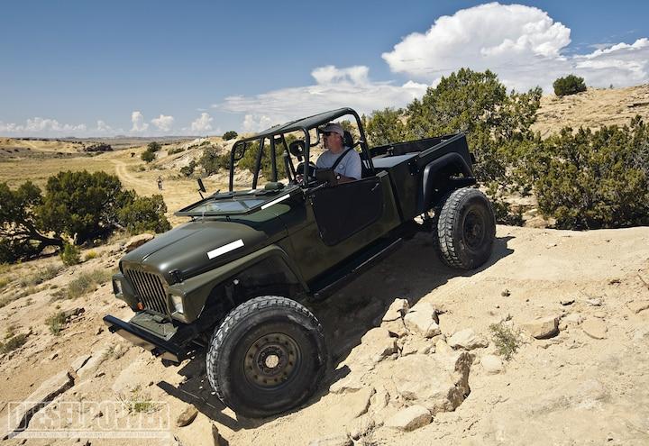 Diesel Jeep CJ-10A - Bullnose