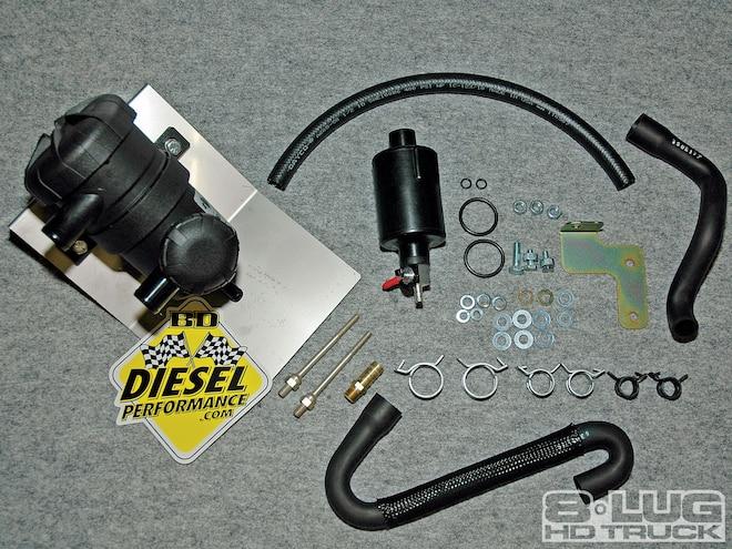 BD Diesel Crank Case Vent Filter Kit - BD CCV Filter Kit